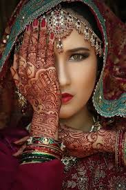 henna makeup make up bridal makeup henna shades of blue burgundy