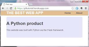 online tutorial of python building a website with python flask pythonhow