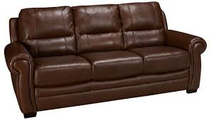 pillow arm leather sofa htlf furniture liar arm leather sofa jordan s furniture