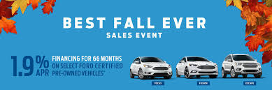 ford certified pre owned best fall ford certified pre owned sales event