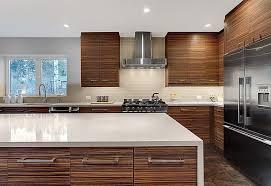Modern Kitchen Range Hoods - mid century modern kitchens white range hood light blue island