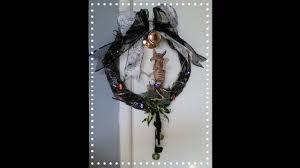 craft w me today dollar tree diy halloween wreath september 25