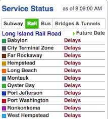 all lirr lines delays cancellations due to power problem