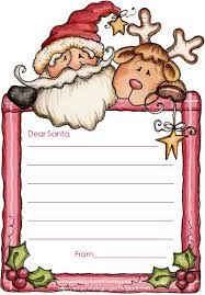 printable santa letters to write in christmas printables