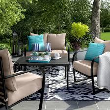 Patio Furniture Conversation Set Ft Walton 4pc Motion Conversation Set Project 62 Target