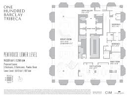 barclays center floor plan corcoran 100 barclay 100 barclay st tribeca real estate