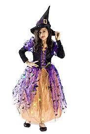 Amazon Halloween Costumes Kids Amazon Witch Halloween Costume Girls 4 6 Toys U0026 Games