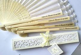 personalized folding fans fan wedding favors lot personalized luxurious silk fold