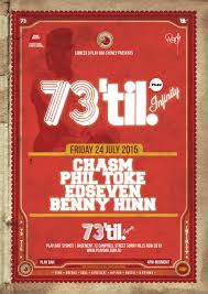73 til u0027 infinity friday u2013 24 07 2015 play bar surry hills