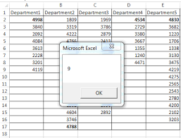 vba find last used row with data in particular column excel examples