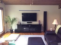 Tv Floating Shelves by Floating Shelf Or No Floating Shelf Over Tv