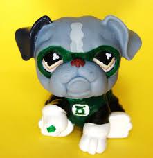 Lps Halloween Costumes Littlest Pet Shop Green Lantern Custom Figure Lps Ooak Justice