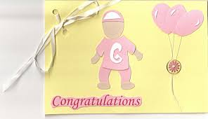 new baby shower card