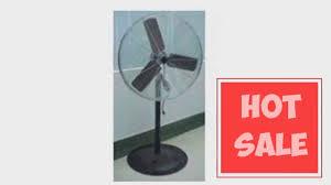 30 Industrial Pedestal Fan Best Q Standard Industrial Pedestal Fan 30 Quot Home Kitchen Youtube