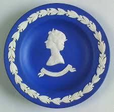elizabeth royal blue jasperware by wedgewood jubilee