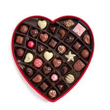 valentines day chocolate s day fabric heart chocolate gift box 37 pc godiva