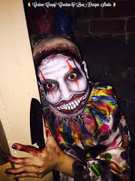 Halloween Makeup Design Look Twisty The Clown From American Horror Story Custom Halloween