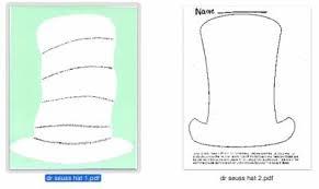 dr seuss hat template free dr seuss dress up days via lovetoteach org free printable pdf u0027s