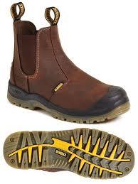 s steel cap boots nz dewalt nitrogen mens s3 dealer pull on ankle steel toe boots