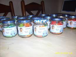 recuerdos de bautizado con frascos de gerber resultado de imagen para carameleras en frascos de vidrios con arena