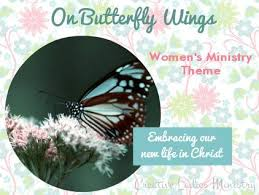 creative ministry themes creative butterfly wings and