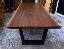 solid wood furniture and custom upholstery by furniture nc live edge dining tables and custom hardwood table tops