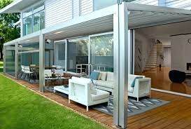 Patio Metal Roof by Patio Roof Ideas Ultra Modern Garden Design Awning Brown Metal
