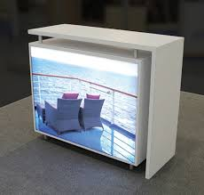 219 best custom backlit trade show exhibit designs images on
