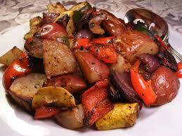 Oven Roasted Root Vegetables Balsamic - roasted mediterranean vegetables recipe genius kitchen
