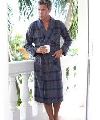 robe de chambre polaire robe de chambre en polaire 120 cm marine homme damartsport