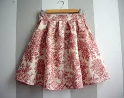 cotton skirt cotton skirt etsy
