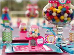 gumball party favors colorful gumball party pizzazzerie