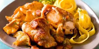 cuisine actuelle recettes lapin aux girolles facile recette sur cuisine actuelle comment