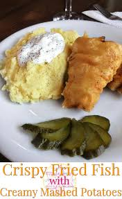 light batter for fish crispy fried fish with creamy mashed potatoes anna can do it