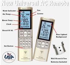 amazon com universal ac remote control replacement for airwell