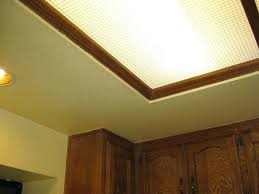 Kitchen Light Cover Covers For Fluorescent Ceiling Lights Fluorescent Ceiling Light