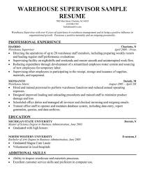 awesome warehouse job resume sample contemporary simple resume