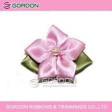 satin ribbon bows small ribbon bows wedding pink wholesale satin ribbon bow suitable