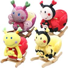 Baby Rocking Chair Baby Rocker Rocking Chair Toy Toddler Animal Soft Cuddly Musical