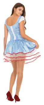 dorothy costume wizard of oz dorothy corset and tutu costume set
