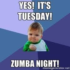 Zumba Meme - what you need to know about zumba tuesday google and searching