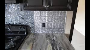 Backsplash For Black Cabinets - kitchen backsplash ideas for black cabinets and blue storm formica
