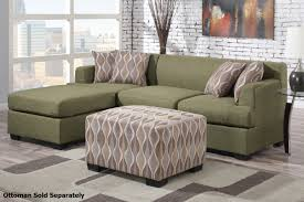 Sectional Sofa Bed Montreal Montreal Ii Green Fabric Sectional Sofa A Sofa Furniture
