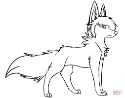 animal jam arctic wolf coloring pages how to draw an animal jam