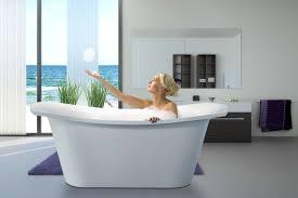 Bathtubs Aquatica Loveme Wht Freestanding Cast Stone Bathtub