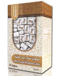 wrapped sugar cubes dazaz sugar دعزاز سكر