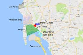 Map Of San Diego Neighborhoods by Where To Stay In San Diego Find The Best Place For You