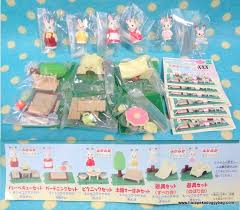 Sylvanian Families Garden - japanese miniature epoch gashapon sylvanian families garden lawn