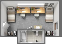 Dorm Room Floor Plan Our Double Floor Plan Is Spacious Enough For Both You And Your