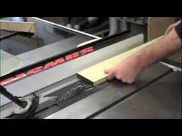 can you use a table saw as a jointer how to use the table saw youtube